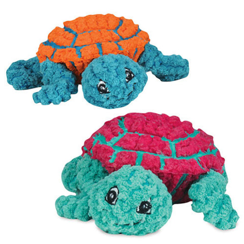 Hugglehounds Ruff-Tex Dude the Turtle Knottie Dog Toy