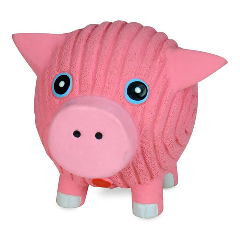 Hugglehounds Ruff-Tex Hamlet the Pig Squeaky Dog Toy