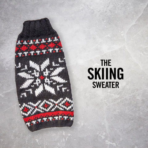 Chilly Dog Ski Sweater