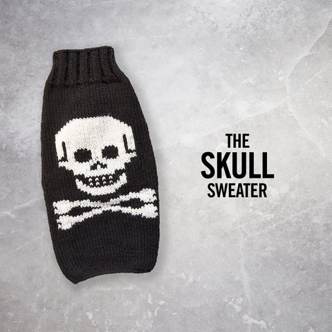 Chilly Dog Skull Sweater