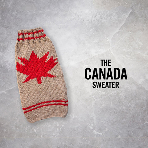 Chilly Dog Canada Sweater