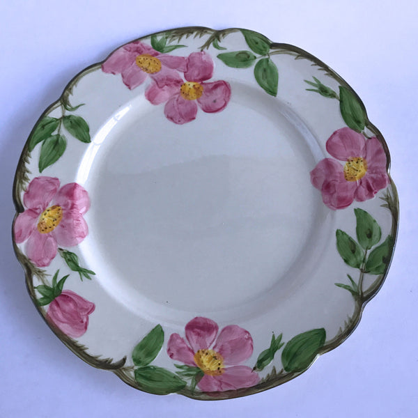 "Franciscan Desert Rose Dinner Plate Brown Earthenware Gladding McBean Backstamp 10-3/4"" Alfie's Treasures 1"