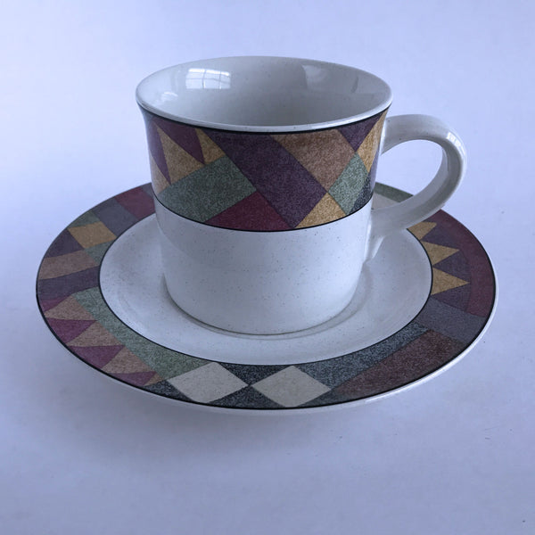 Studio Nova Palm Desert Y2216 Cup and Saucer Set Southwest Border