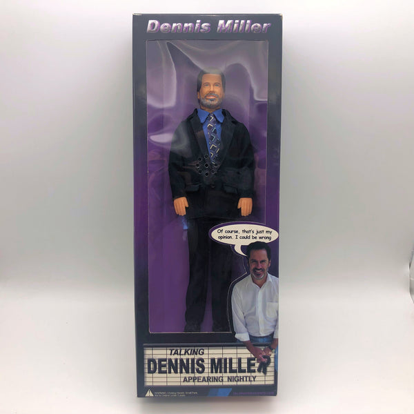 "Dennis Miller 12"" Talking Action Hero DM-PG Family Suitable New"