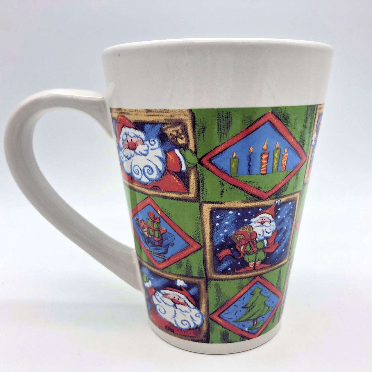 Royal Norfolk Santa 10 oz Coffee Mug Christmas Holiday