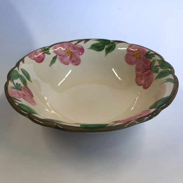 Vintage Franciscan Desert Rose Round Serving Bowl Made in England 8-3/4""