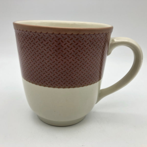 Noritake Stoneware Safari Rose Wood Coffee Mug 8043