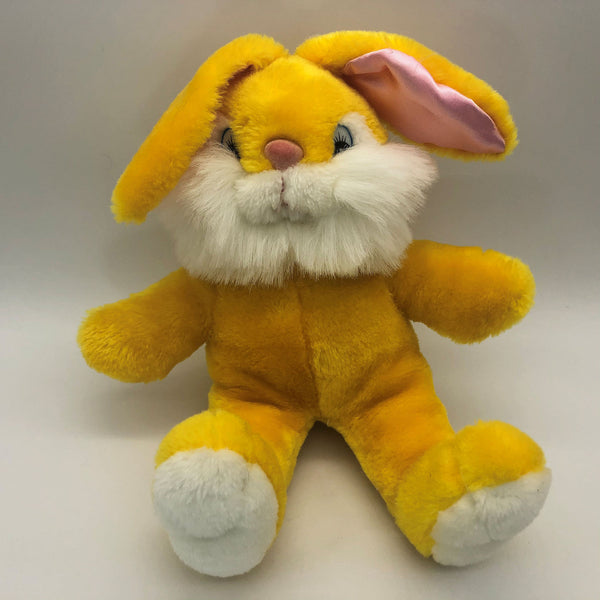 Gold Yellow Easter Bunny Rabbit Pink Ears