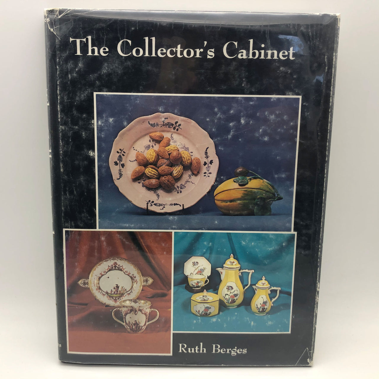 The Collector's Cabinet Ruth Berges Hard Cover Book First Edition