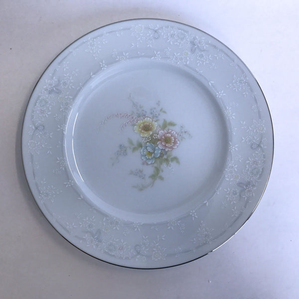 Vintage Noritake Anticipation 2963 Salad Plate Floral Center Flower Rim