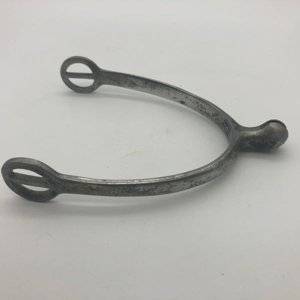 Single Spur Marked Kangaroo Made in England Horse Riding Equestrian
