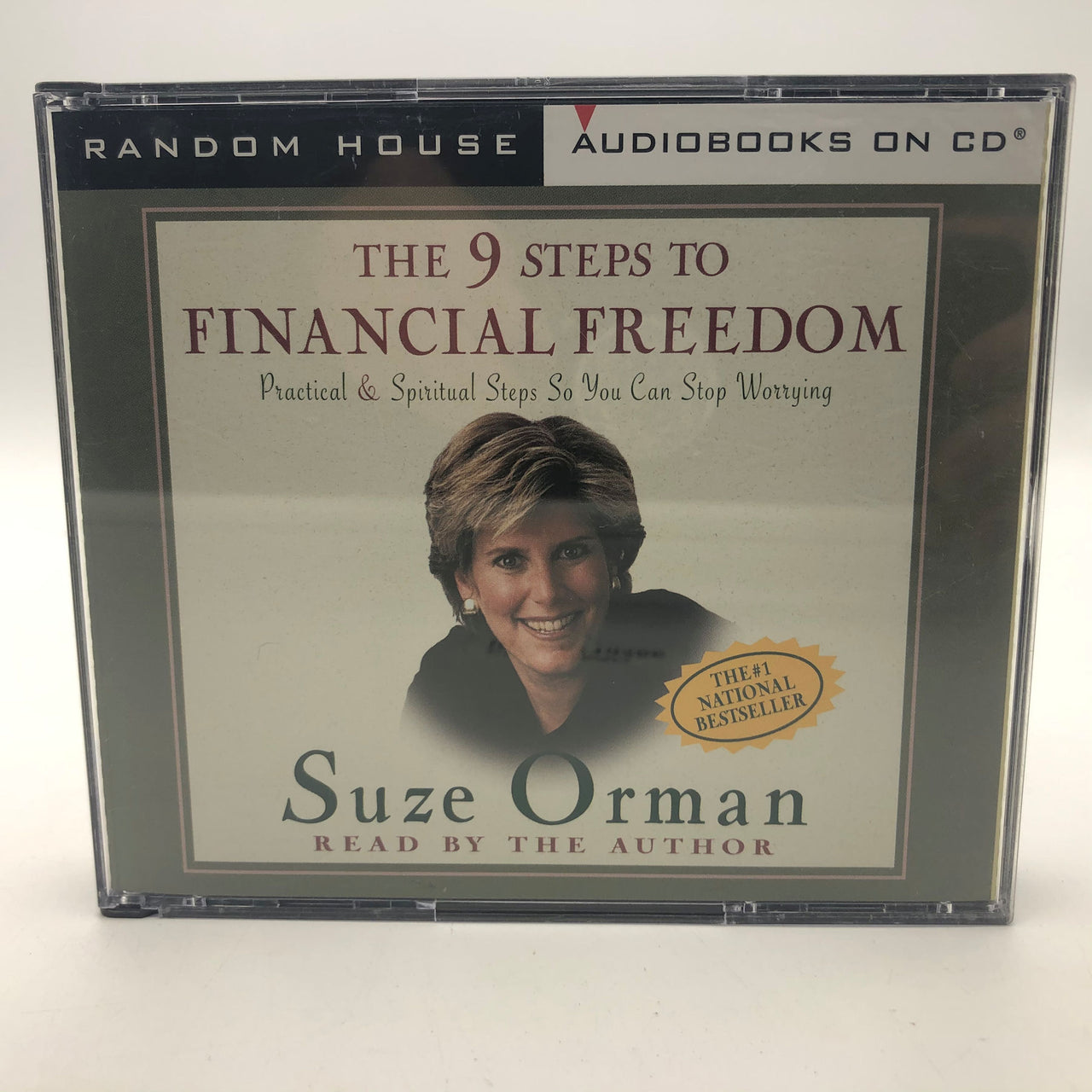 Suze Orman The 9 Steps to Financial Freedom 3 CD Audiobook