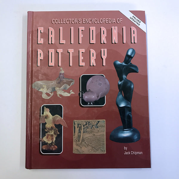 Collector's Encyclopedia of California Pottery 1995 Value Guide Book
