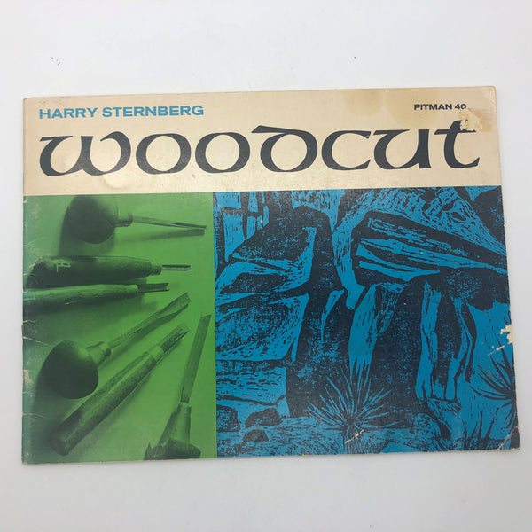 Woodcut by Harry Sternberg Pitman Publishing Art Book Booklet