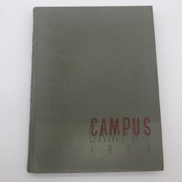 1938 Fresno State College The Campus Yearbook