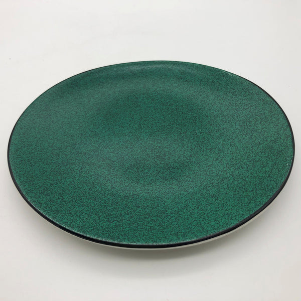 "Sango Vogue Green Salad Plate Oval 8-3/4"" x 7-1/2"""