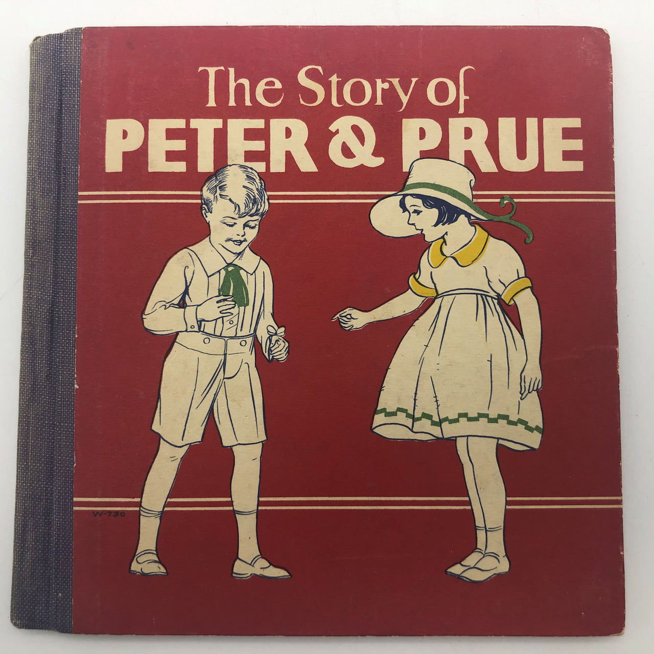 Vintage 1926 Children's Book The Story of Peter & Prue Twins