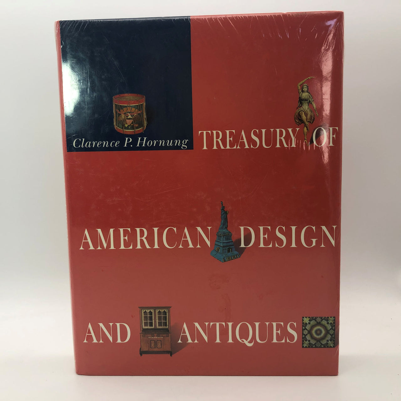 Treasury of American Design and Antiques Clarence P. Hornung Hard Cover Book New