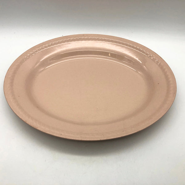 Vintage Homer Laughlin Kraft Pink Oval Platter 11-1/2""