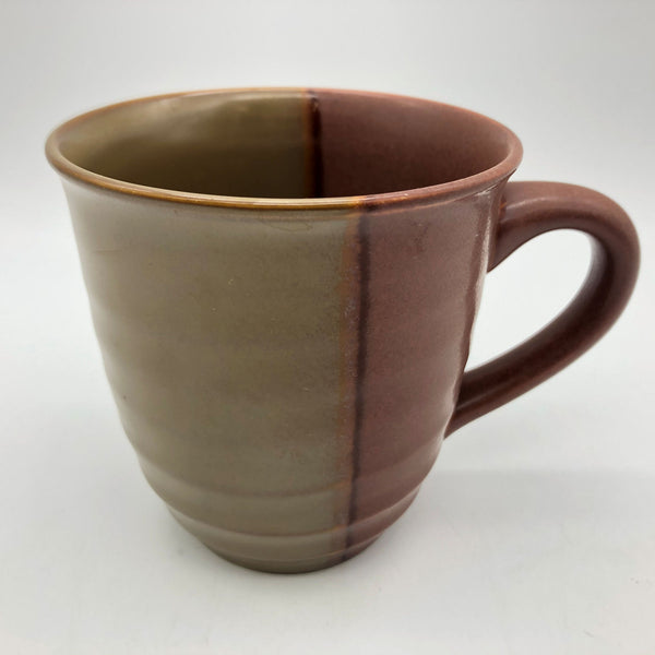 "Sango Gold Dust Sienna Coffee Mug 4"" Tall"