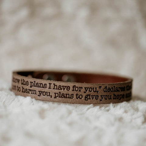 jeremiah 29 11 brown bracelet