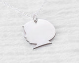 Baby Silhouette Necklace