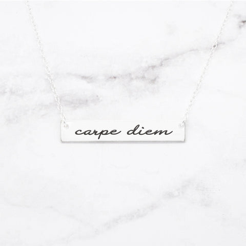 Dare To Dream - Gold Bar Necklace