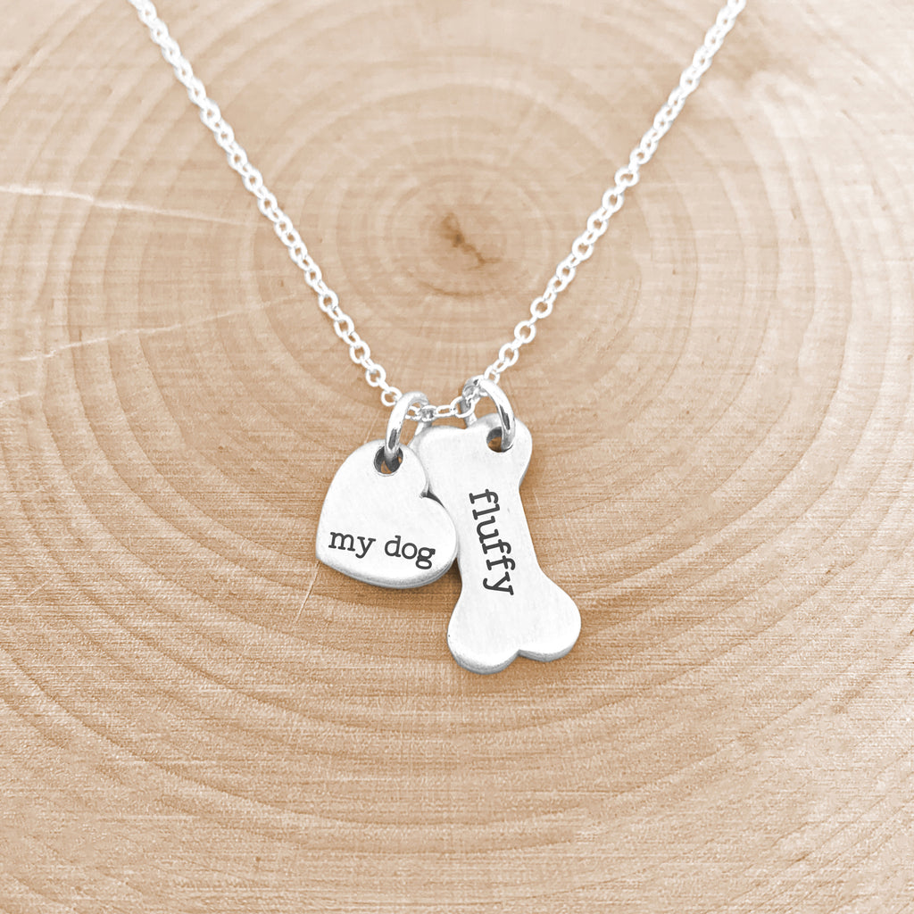 Dog Mom Necklace - Personalized Dog Necklace