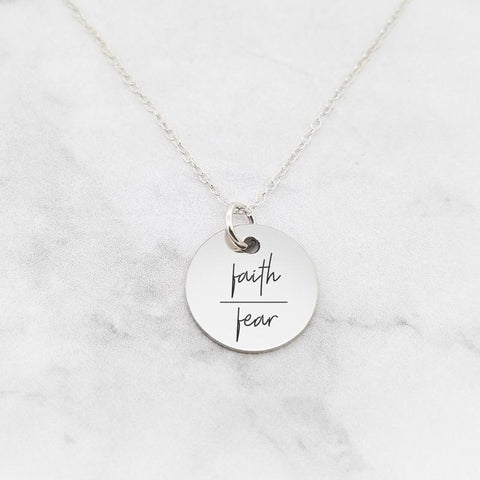 Choose Joy - Rose Gold Quote Bar Necklace