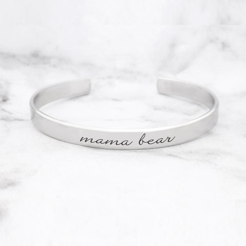 Believe Word Bracelet