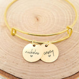 Personalized Gold Name Bracelet