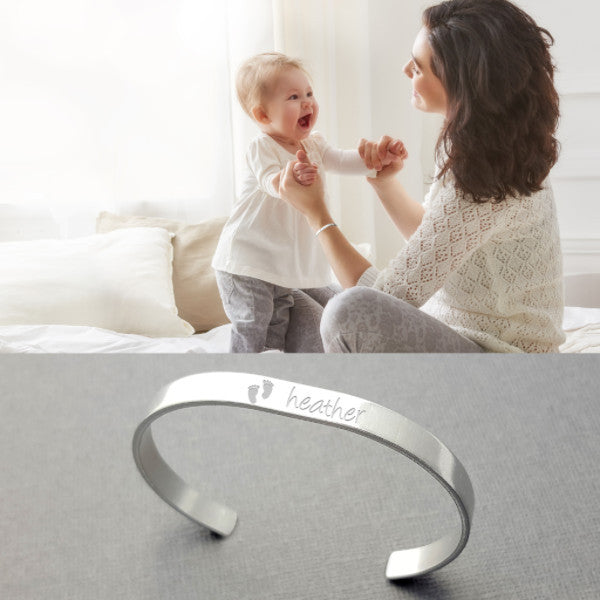 Personalized Cuff With Kid's Names