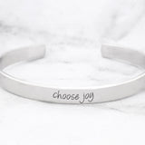 Choose Joy Mantra Bracelet