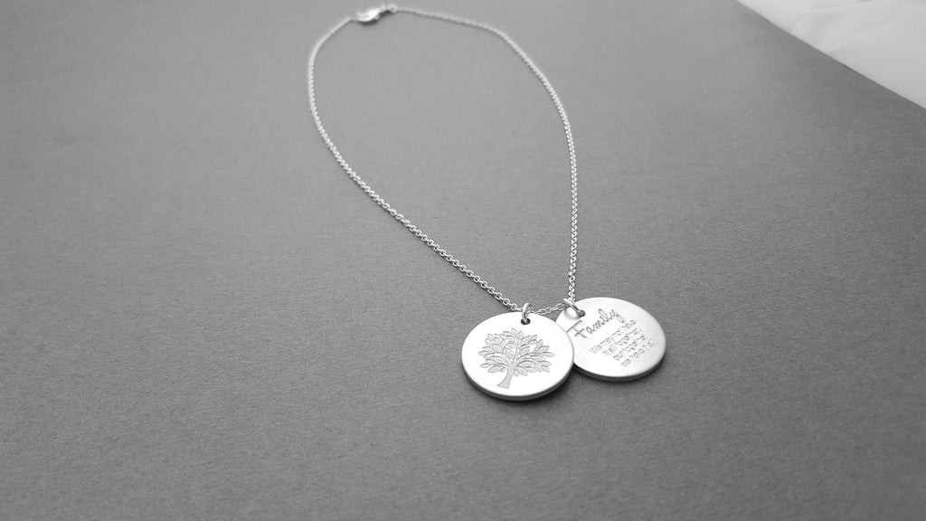 Family Tree Necklace - A Beautiful Tree Of Life Necklace