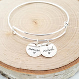 Personalized Sterling Silver Name Bracelet