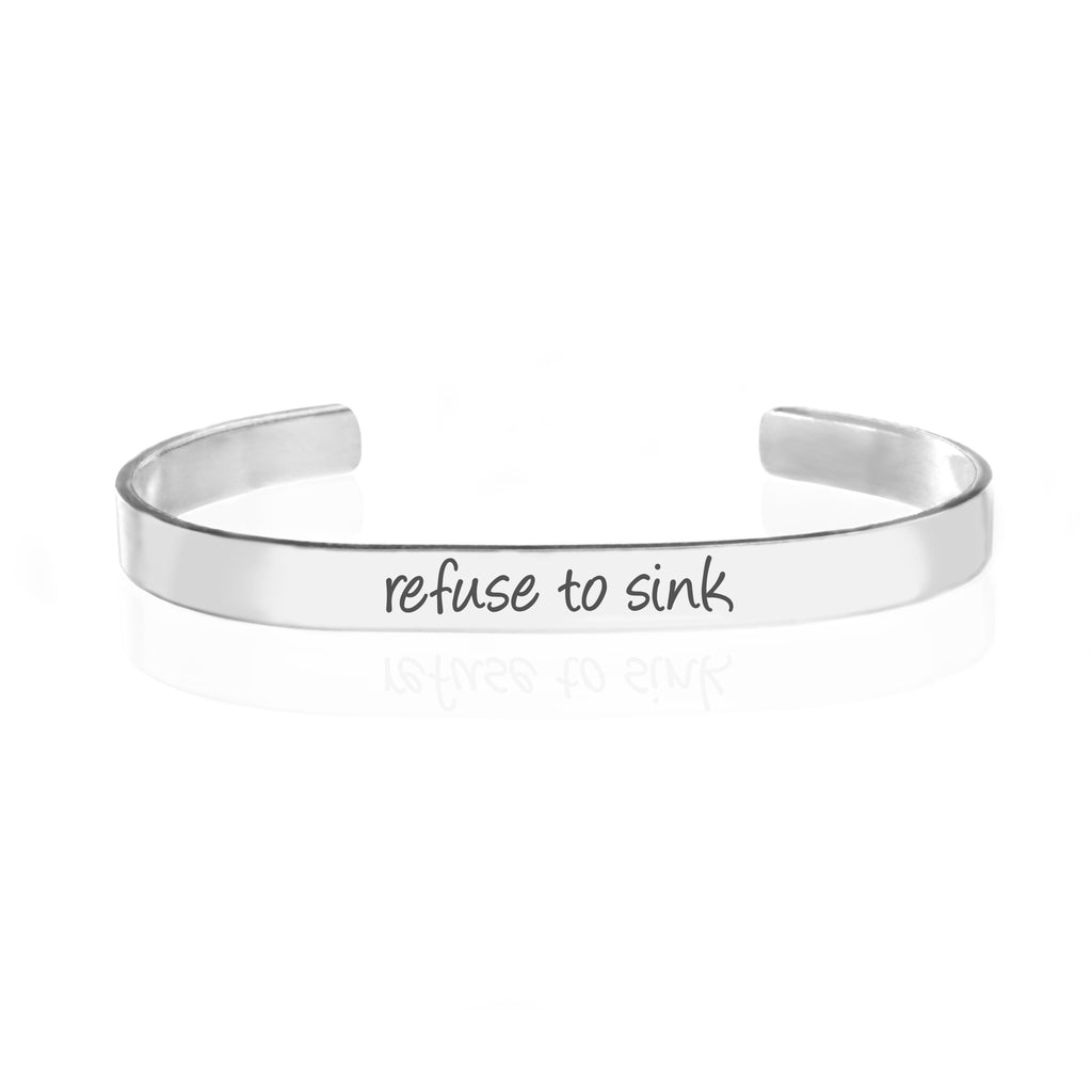 Refuse To Sink Bracelet