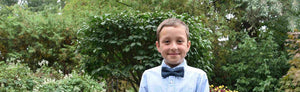 Puffin Gear Child Linen Bow Tie - Made in Canada