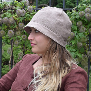 Puffin Gear Linen Canvas Harvest Cloche-Made in Canada