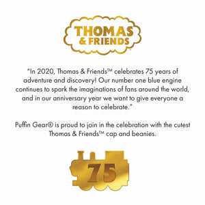 Puffin Gear Thomas & Friends Caps and Beanies-Made in Canada-75th Anniversary