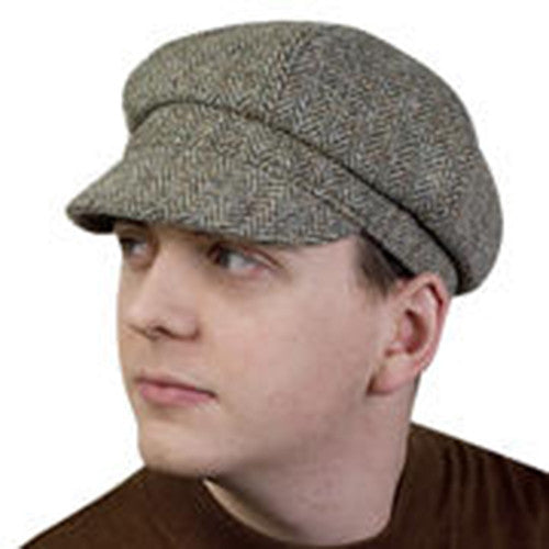 Puffin Gear Harris Tweed Newsboy Cap - Made in Canada