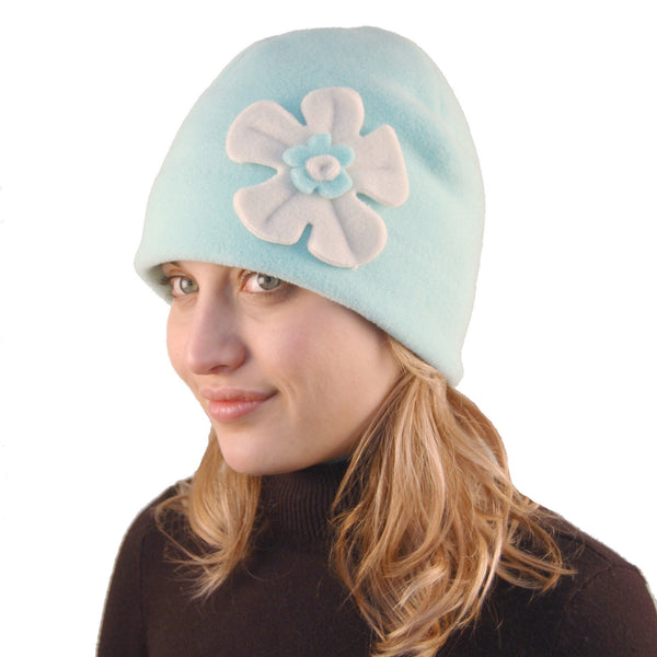 Puffin Gear Polartec Classic 200 Fleece Flower Cap
