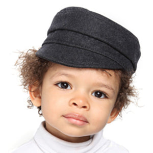 Puffin Gear Melton Wool Child Cap - Made in Canada