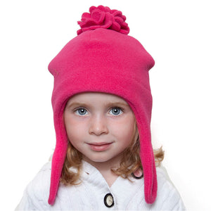 Puffin Gear Polartec Classic 200 Fleece Blossom Child Hat-Made in Canada