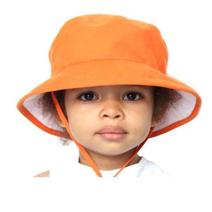 Puffin Gear Organic Cotton UPF 50+ Sun Protection Child Camp Hat-Made in Canada