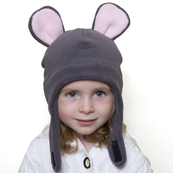 Puffin Gear Polartec® Classic 200 Fleece Child Mouse Hat
