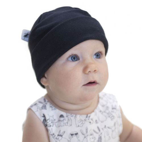 Infant Beanie - Organic Cotton Jersey