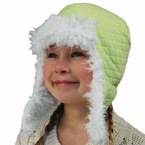 Puffin Gear Alpine Quilt Child Snow Helmet Hat - Made in Canada