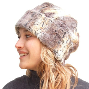 Puffin Gear Lodge Faux Fur Toque
