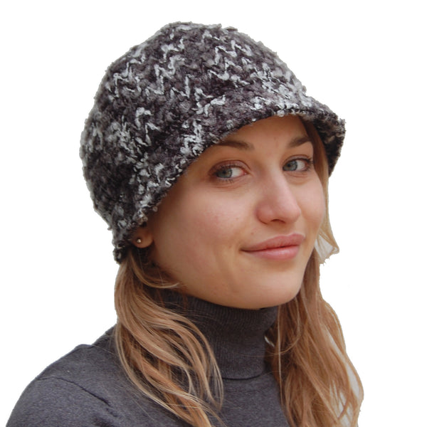 Puffin Gear Icicle Boucle Cloche Hat - Made in Canada
