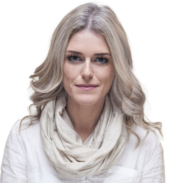 Puffin Gear Linen Jersey Infinity Scarf - Made in Canada
